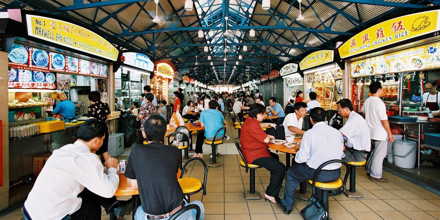 Singapur Hawker Center